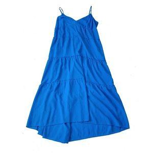 Bcbg maxazria Fannie tiered sleeveless midi dress
